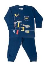Fun2Wear Pyjama handyman blauw