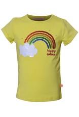 SomeOne geel shirt regenboog