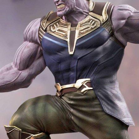 Iron Studios -  Marvel Avengers Infinity War BDS Art Scale Statue 1/10 Thanos 35 cm