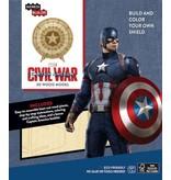 Window box Captain America Civil War IncrediBuilds 3D Wood Model Kit Shield