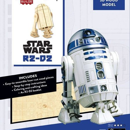 Window box Star Wars IncrediBuilds 3D Wood Model Kit R2-D2