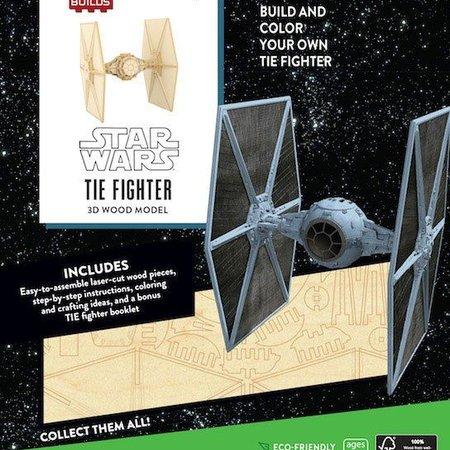 Window box Star Wars IncrediBuilds 3D Wood Model Kit TIE Fighter