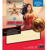 Window box DC Comics IncrediBuilds 3D Wood Model Kit Wonder Woman Tiara
