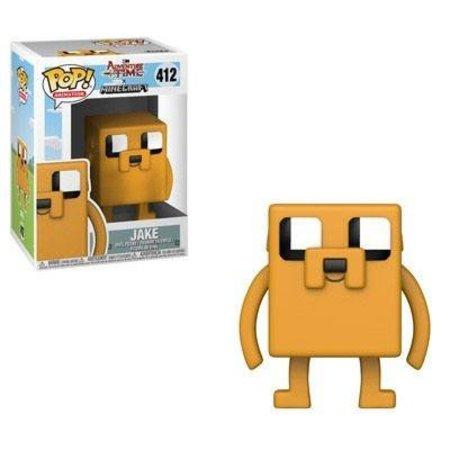Funko  Adventure Time / Minecraft POP! Television Vinyl Figure Jake 9 cm