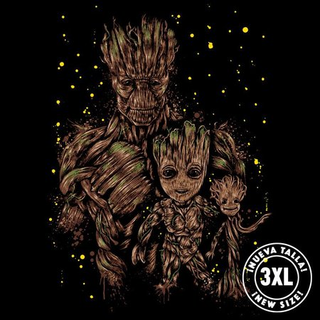 Pampling The Evolution of Groot by Dr.Monekers