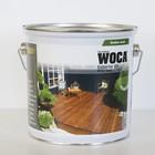 WOCA EXTERIOR OIL EXCLUSIVE Zilvergrijs 2,5l