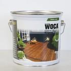 WOCA EXTERIOR OIL EXCLUSIVE Zoutgroen 2,5l