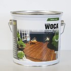 WOCA EXTERIOR OIL EXCLUSIVE Zwart 2,5l
