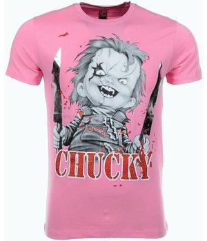 Mascherano Camisetas - Chucky - Rosado
