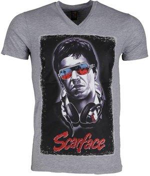 Mascherano Camisetas - Scarface - Gris