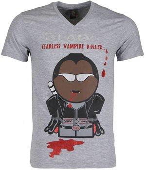 Mascherano Camisetas - Blade Fearless Vampire Killer - Gris