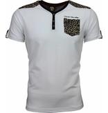 David Mello Camisetas - Tiger Motif - Blanco