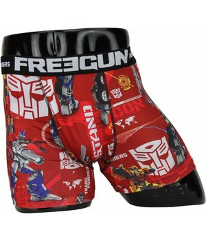 Freegun Bóxers - Transformers Bóxers - Rojo