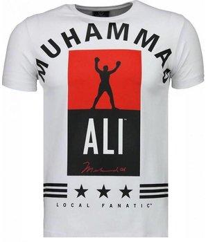 Local Fanatic Camisetas - Muhammad Ali Stars Camisetas Personalizadas - Blanco