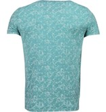 Black Number Camisetas - Patrón de la Hoja Verano - Verde