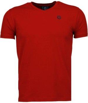 Local Fanatic Camisetas - Basic Exclusive Camisetas Personalizadas - Rojo