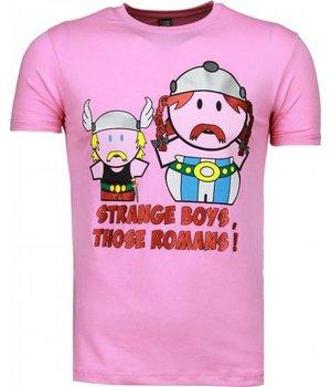 Mascherano Camisetas - Romans - Rosado