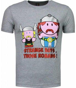 Mascherano Camisetas - Romans - Gris