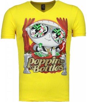 Mascherano Camisetas - Poppin Stewie - Amarillo