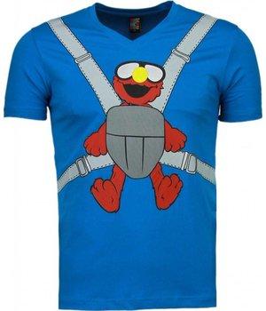 Mascherano Camisetas - Baby Bear- Azul