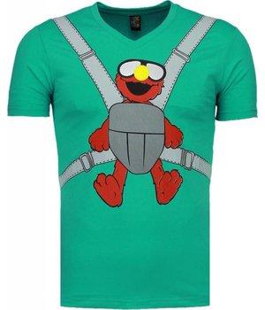 Mascherano Camisetas - Baby Bear - Verde Menta