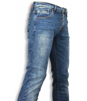 Black Ace Vaqueros - Vaqueros Regular Jeans Slim Fit - Azul