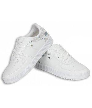 Cash Money Zapatillas - Zapatos para hombre Low Camouflage white - Blanco