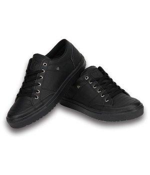 Cash Money Zapatillas - Zapatos para hombre Low Full Black - Negro