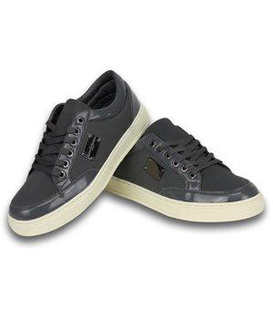 Roberto Garino Zapatillas- Zapatos Para Hombre - Gris