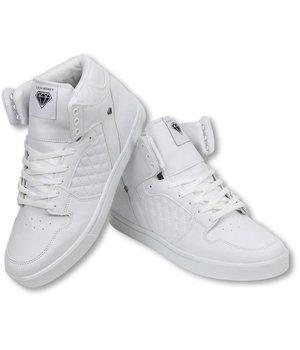 Cash Money Zapatilla de deporte - Zapatos Para Hombre Alto - Jailor Blanco Mate