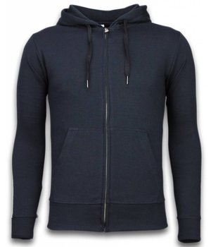 Bread & Buttons Chándal Basic - Side Lines Jogging Suit - Azul