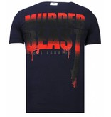 Local Fanatic Camisetas - Hunter Duck - Rhinestone Camisetas -  Azul