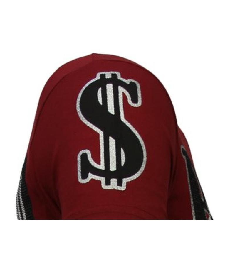Local Fanatic Camisetas - Billionaire Boss - Rhinestone Camisetas -  Burdeos
