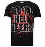 Local Fanatic Camisetas - Glory Martial - Rhinestone Camisetas - Negro
