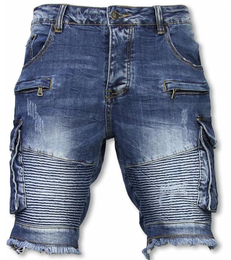distribuidor mayorista 63b14 f5b17 Pantalones Cortos - Bermudas Vaqueras Hombre Slim Fit ...