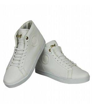 Cash Money Zapatos de Hombre - Zapatillas Online Hombre Lion  Plateado  - Blanco