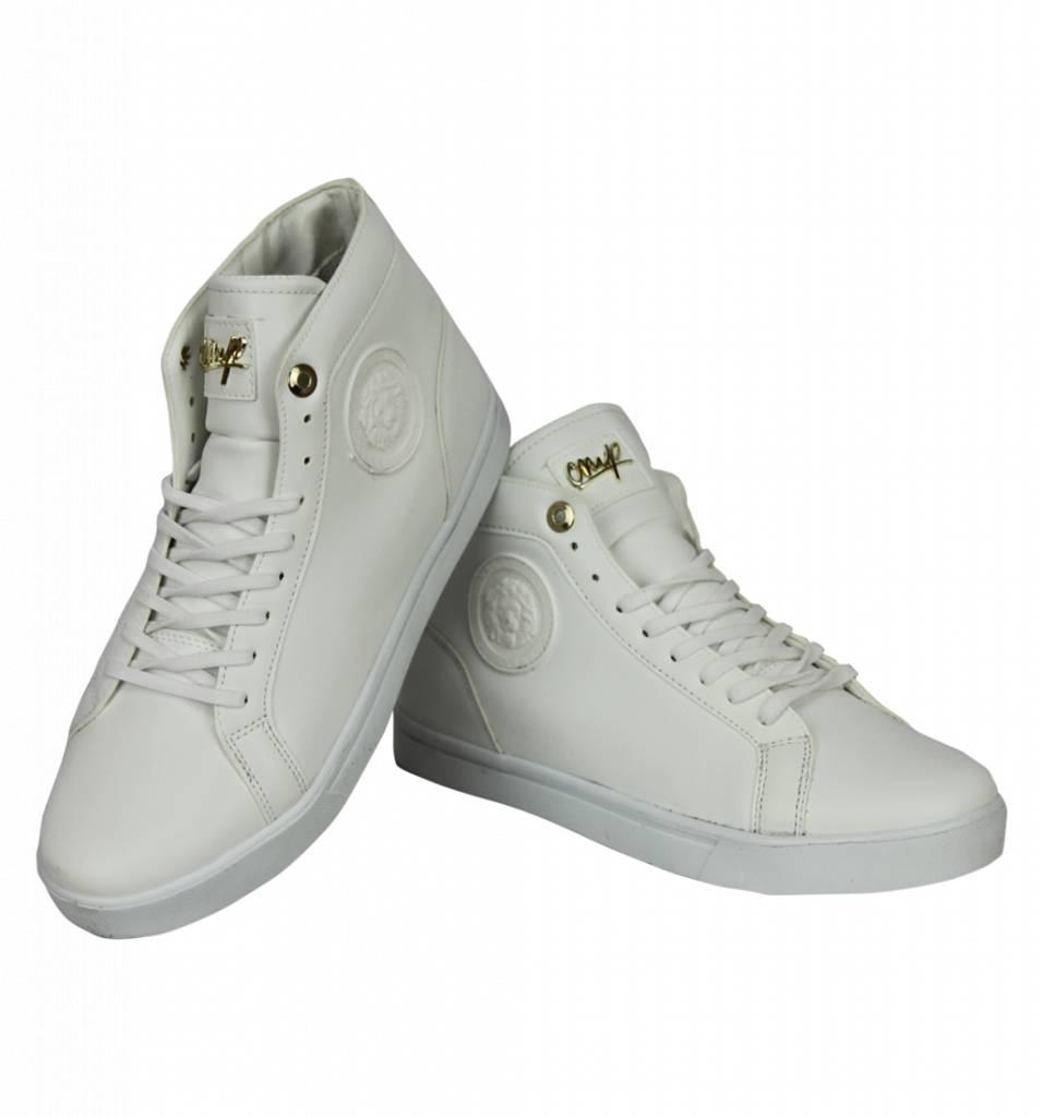 71e9b1a37ae4b Cash Money Zapatos de Hombre - Zapatillas Online Hombre Lion Plateado -  Blanco ...