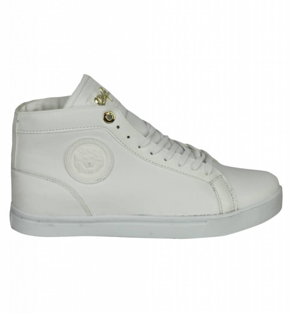 e6461655afe3a ... Cash Money Zapatos de Hombre - Zapatillas Online Hombre Lion Plateado -  Blanco ...