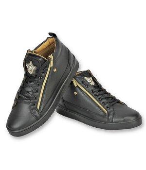 Cash Money Zapatos de Hombre - Comprar zapatillas Hombre  Bee Dorado  - Negro