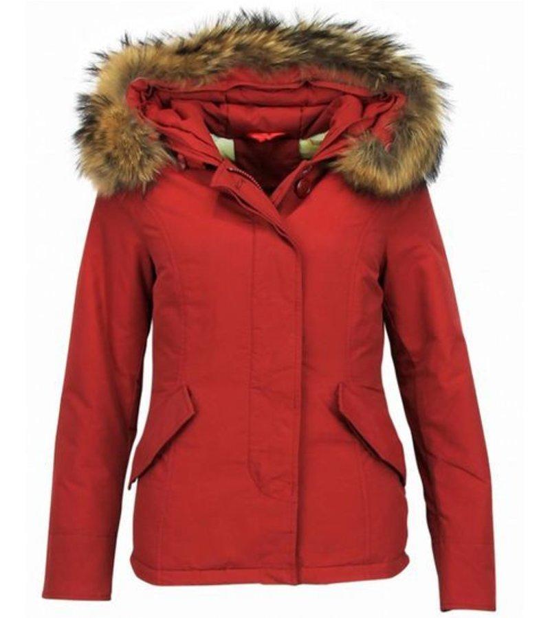 TheBrand Parkas Mujer - Abrigos Mujer  - Parkas Rojo - Rojo