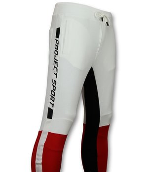 Enos Pantalones jogger jeans hombre - Chino joggers mens - PF7663 - Blanco