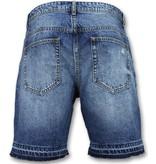 Enos Pantalones vaqueros cortos hombre - Vaqueros cortos hombre - J-965 - Azul