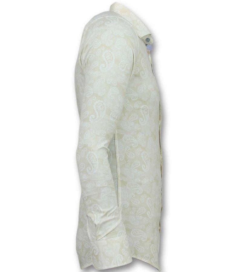 Gentile Bellini Venta de camisas de hombre - Camisas italianas baratas - 3010 - Doble