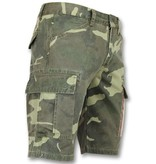 Enos Bermudas de cuadros hombre - Pantalon y short -9017 - Verde