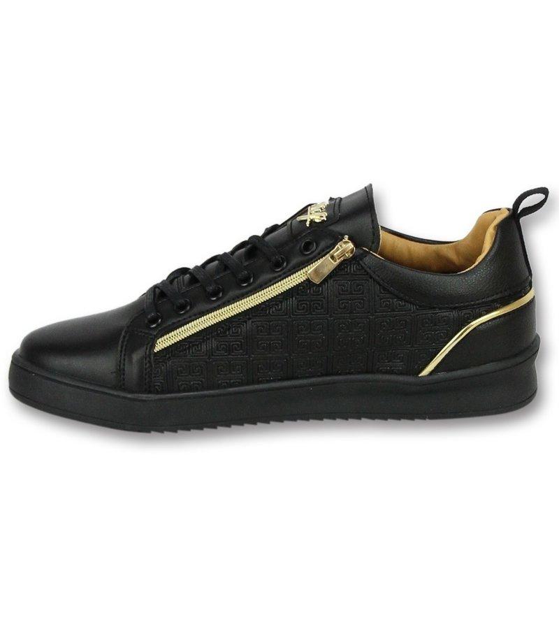 Cash Money Zapatillas bajitas para hombre - Zapatos Hombre  Maya Full Black - CMP97 - Negro