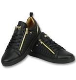 Cash Money Zapatillas para calle - Zapatos Hombre  Jailor Full Black - CMP97 - Negro