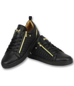 Cash Money Zapatillas para calle - Zapatos Hombre  Jailor Full Black - CMP97 - Negro