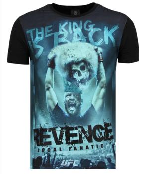 Local Fanatic Conor Mcgregor Rhinestones - Camisas Para Hombre - 6348Z - Negro