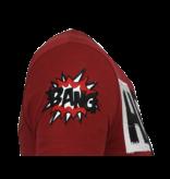 Local Fanatic Hero Mask Rhinestone - Camisetas Hombre - 6323B - Burdeos