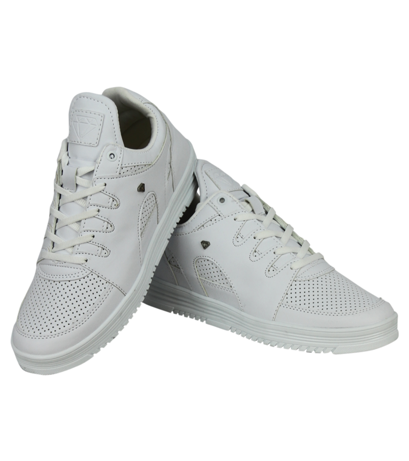 Cash Money Compr Zapatillas Blancas - Hombres  States Full  White - CMS71-W - Blanco